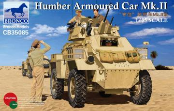 Humber Armoured Car Mk.II · BRON CB35085 ·  Bronco Models · 1:35