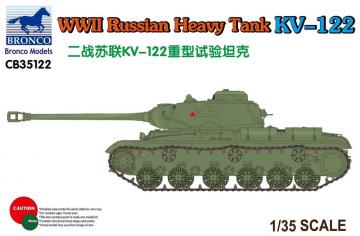 WWII Russian Heavy Tank KV-122 · BRON CB35122 ·  Bronco Models · 1:35