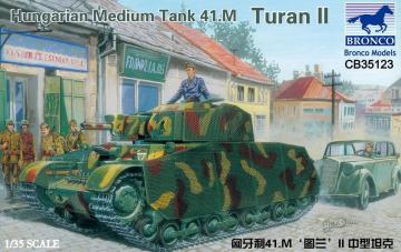 Hungarian Medium Tank 41.M Turan II · BRON CB35123 ·  Bronco Models · 1:35