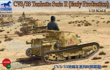 CV3/33 Tankette Serie II (Early Producti · BRON CB35125 ·  Bronco Models · 1:35