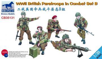 WWII British Paratroops in Combat Set B · BRON CB35131 ·  Bronco Models · 1:35