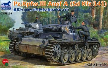 Panzerkampfwagen III Ausf.A (Sd Kfz 141) · BRON CB35134 ·  Bronco Models · 1:35