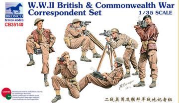 W.W.II British & Commonwealth War · BRON CB35140 ·  Bronco Models · 1:35