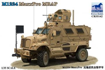 M1224 MaxxPro MRAP · BRON CB35142 ·  Bronco Models · 1:35