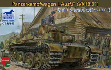 Panzerkampfwagen I Ausf.F(VK18.01) · BRON CB35143 ·  Bronco Models · 1:35