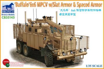BUFFALO 6x6 MPCV w/Slat Armor & Spaced Armor Version · BRON CB35145 ·  Bronco Models · 1:35