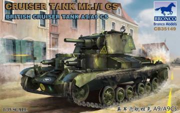 Cruiser Tank Mk.I/ICS British Cruiser Tank A9/A9CS · BRON CB35149 ·  Bronco Models · 1:35