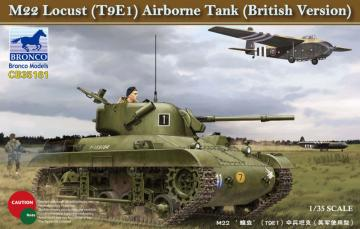 M22 Lucust (T9E1) Airborne Tank (British Version) · BRON CB35161 ·  Bronco Models · 1:35