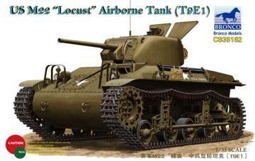 US M22 Locust Airborne Tank (T9E1) · BRON CB35162 ·  Bronco Models · 1:35