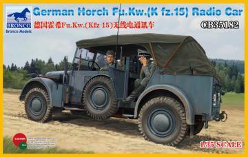 Horch Fu.Kw.(Kfz.15) Radio Car · BRON CB35182 ·  Bronco Models · 1:35
