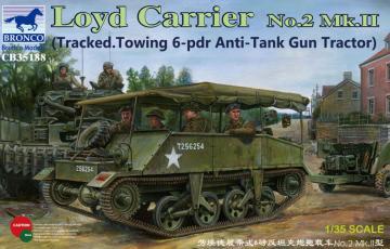Loyd Carrier No.2 Mk.II · BRON CB35188 ·  Bronco Models · 1:35