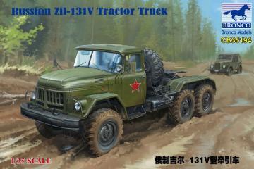 Russian Zil-131V Tractor Truck · BRON CB35194 ·  Bronco Models · 1:35
