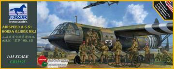 Airspeed A.S.51 Horsa Glider Mk.I. · BRON CB35195 ·  Bronco Models · 1:35