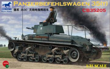 Panzerbefehlswagen 35(t) · BRON CB35205 ·  Bronco Models · 1:35