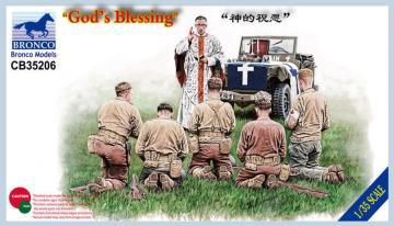 God`s Blessing · BRON CB35206 ·  Bronco Models · 1:35