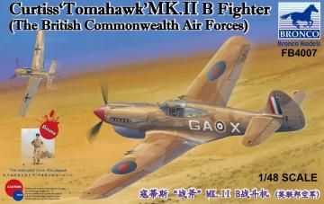 CurtissTomahawk´MK.II B Fighter  The British Commonwealth Air Forces) · BRON FB4007 ·  Bronco Models · 1:48