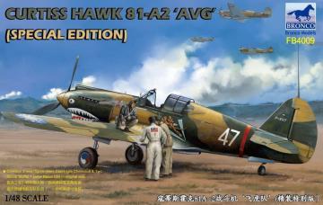 Curtiss Hawk 81-A2´AVG´ (Special Edition) · BRON FB4009 ·  Bronco Models · 1:48