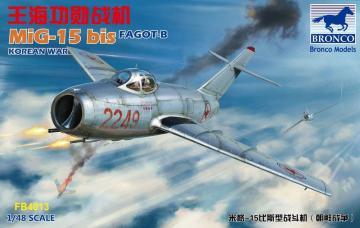 MiG-15 bis Fagot-B · BRON FB4013 ·  Bronco Models · 1:48