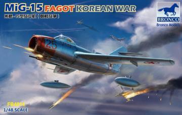 MiG-15 Fagot · BRON FB4014 ·  Bronco Models · 1:48