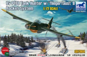 BV P178 Tank Hunter w/Fliegerfaust`B Rocket System · BRON GB7004 ·  Bronco Models · 1:72