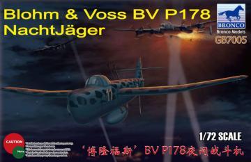 Blohm & Voss BV P178 NachtJ?ger · BRON GB7005 ·  Bronco Models · 1:72