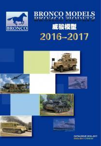 BRONCO Models Katalog 2016-2017 · BRON KAT2016 ·  Bronco Models