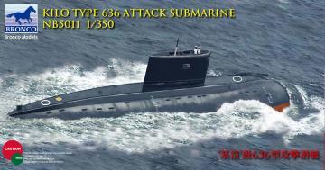 Kilo Class (Improved) Attack Submarine · BRON NB5011 ·  Bronco Models · 1:350