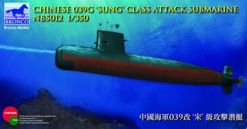 Chinese 039G - Sung Class Attack Submarine · BRON NB5012 ·  Bronco Models · 1:350