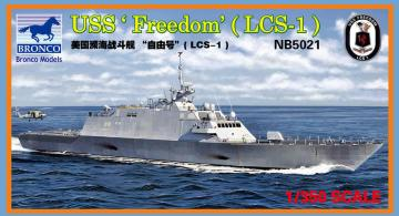 LCS-1 USS Freedom · BRON NB5021 ·  Bronco Models · 1:350