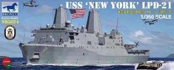 USS LPD-21 New York · BRON NB5024 ·  Bronco Models · 1:350