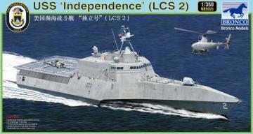 LCS-2 Independence · BRON NB5025 ·  Bronco Models · 1:350