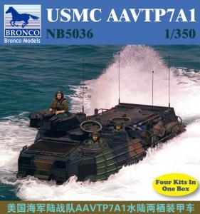 USMC AAVTP7A1 · BRON NB5036 ·  Bronco Models · 1:350
