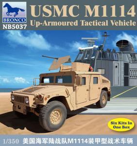 USMC M-1114 UP-Armoured Vehicle · BRON NB5037 ·  Bronco Models · 1:350