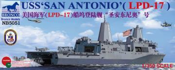 USS San Antonio (LPD-17) · BRON NB5051 ·  Bronco Models · 1:350