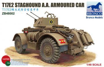 T17E2 Staghound A.A.Armoured Car · BRON ZB48002 ·  Bronco Models · 1:48