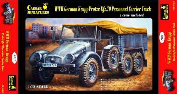 WWII Germ. Krupp Pr. Kfz.70 Pers.C.Truck · CAE 7207 ·  Caesar Miniatures · 1:72