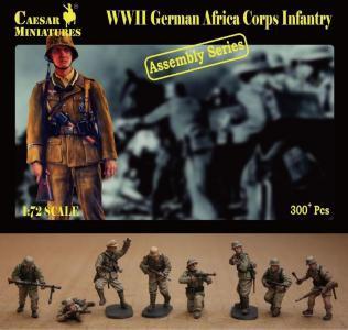 German Africa Corps Infantry · CAE CM7713 ·  Caesar Miniatures · 1:72