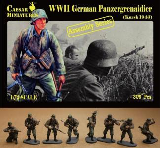 German Panzergrenaidier (Kursk 1943) · CAE CM7715 ·  Caesar Miniatures · 1:72