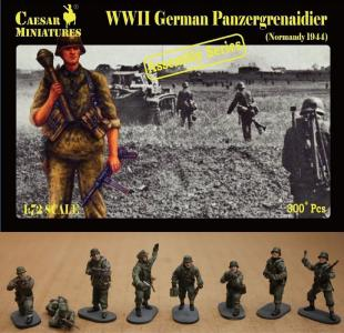 German Panzergrenaidier(Normandy 1944) · CAE CM7716 ·  Caesar Miniatures · 1:72