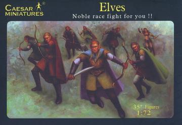 Elves Noble race fight for you!! · CAE F102 ·  Caesar Miniatures · 1:72