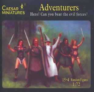 Adventurers Hero! Can you bear the evil forces? · CAE F104 ·  Caesar Miniatures · 1:72