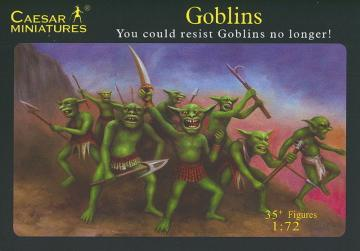 Goblins You could restist Goblins no longer! · CAE F105 ·  Caesar Miniatures · 1:72