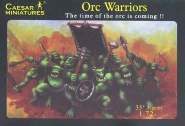 Orc Warriors · CAE F106 ·  Caesar Miniatures · 1:72