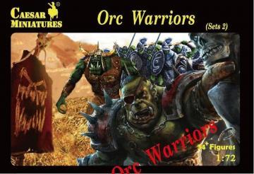Orc Warriors Sets2 · CAE F109 ·  Caesar Miniatures · 1:72