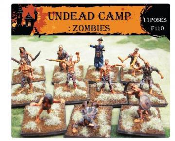 Undead Camp: Zombies · CAE F110 ·  Caesar Miniatures