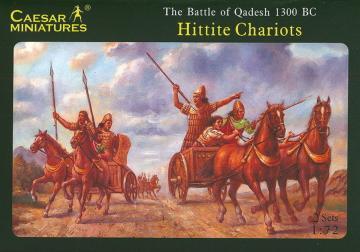 Hittite Chariots · CAE H012 ·  Caesar Miniatures · 1:72