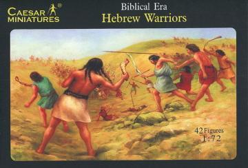 Hebrew Warriors · CAE H014 ·  Caesar Miniatures · 1:72