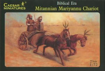 Mitannian Mariyannu Chariot · CAE H015 ·  Caesar Miniatures · 1:72