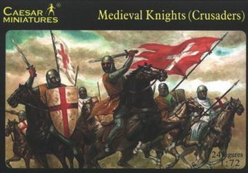 Medieval Knight (Crusader) · CAE H017 ·  Caesar Miniatures · 1:72