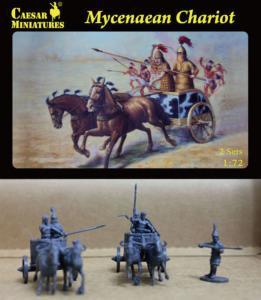 Mycenaean Chariot · CAE H021 ·  Caesar Miniatures · 1:72